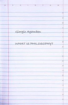 What Is Philosophy? av Giorgio Agamben (Heftet)