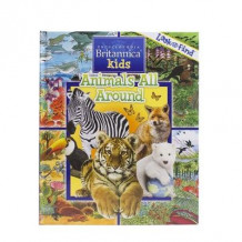 Encyclopediaopedia Britannica Animals Look Fin av PI Kids (Innbundet)
