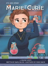 Omslag - Marie Curie Graphic Novel