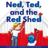 Omslag - Ned, Ted, and the Red Shed