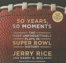50 Years, 50 Moments av Jerry Rice og Randy Williams (Lydbok-CD)