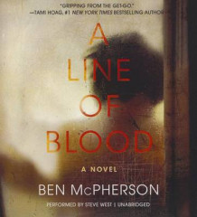 A Line of Blood av Ben McPherson (Lydbok-CD)