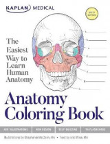 Omslag - Anatomy Coloring Book