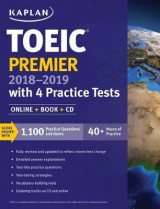 Omslag - Toeic Premier 2018-2019 with 4 Practice Tests