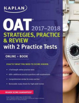 Omslag - Oat 2017-2018 Strategies, Practice & Review with 2 Practice Tests