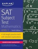 Omslag - SAT Subject Test Mathematics Level 1