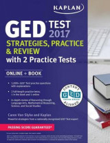 Omslag - GED Test 2017 Strategies, Practice & Review with 2 Practice Tests