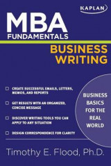 Omslag - MBA Fundamentals Business Writing