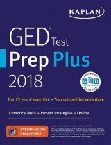 Omslag - GED Test Prep Plus 2018