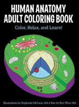 Omslag - Human Anatomy Adult Coloring Book