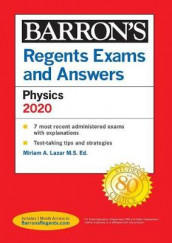 Regents Exams and Answers: Physics--Physical Setting 2020 av Miriam Lazar (Heftet)