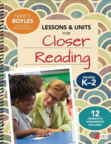 Omslag - Lessons and Units for Closer Reading: Grades K-2