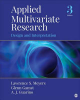 Omslag - Applied Multivariate Research