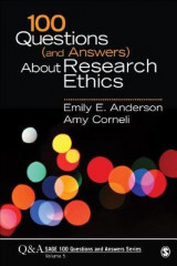 Omslag - 100 Questions (and Answers) About Research Ethics