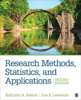 Omslag - Research Methods, Statistics, and Applications