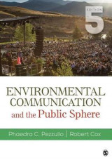 Omslag - Environmental Communication and the Public Sphere