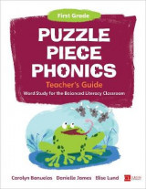 Omslag - Puzzle Piece Phonics Teacher's Guide, First Grade