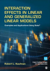 Interaction Effects in Linear and Generalized Linear Models av Robert L. Kaufman (Innbundet)