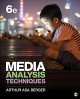 Omslag - Media Analysis Techniques