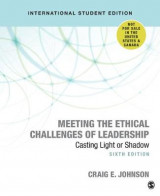 Omslag - Meeting the Ethical Challenges of Leadership
