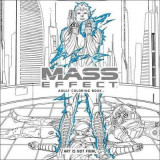 Omslag - Mass Effect Adult Coloring Book