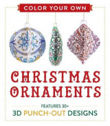 Omslag - Color Your Own Christmas Ornaments