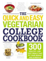 Omslag - The Quick and Easy Vegetarian College Cookbook