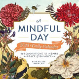 Omslag - A Mindful Day 2018 Daily Calendar