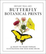 Omslag - Instant Wall Art - Butterfly Botanical Prints