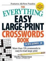 Omslag - The Everything Easy Large-Print Crosswords Book, Volume 8