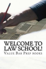Omslag - Welcome to Law School!