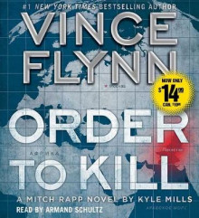 Order to Kill av Vince Flynn (Lydbok-CD)