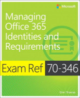 Omslag - Exam Ref 70-346 Managing Office 365 Identities and Requirements