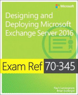 Omslag - Exam Ref. 70-345 Designing and Deploying Microsoft Exchange Server 2016