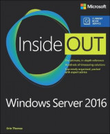 Omslag - Windows Server 2016 Inside Out (Includes Current Book Service)