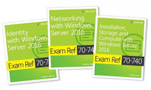 MCSA Windows Server 2016 Exam Ref 3-Pack av Craig Zacker og Andrew Warren (Heftet)