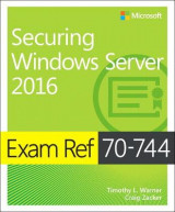 Omslag - Exam Ref 70-744 Securing Windows Server 2016