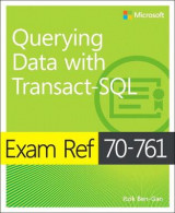 Omslag - Querying Data with Transact-SQL: Exam ref 70-761
