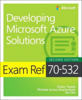 Omslag - Exam Ref 70-532 Developing Microsoft Azure Solutions