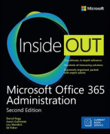 Omslag - Microsoft Office 365 Administration Inside Out (Includes Current Book Service)