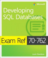 Omslag - Exam Ref 70-762 Developing SQL Databases