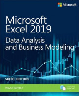 Omslag - Microsoft Excel 2019 Data Analysis and Business Modeling