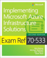 Omslag - Exam Ref 70-533 Implementing Microsoft Azure Infrastructure Solutions