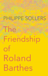 Omslag - The Friendship of Roland Barthes