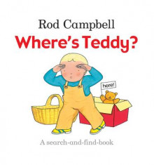 Where's Teddy? av Rod Campbell (Bok uspesifisert)