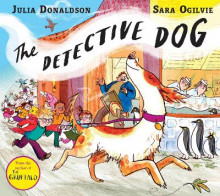 The Detective Dog av Julia Donaldson (Heftet)