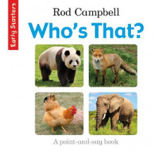 Early Starters: Who's That? av Rod Campbell (Bok uspesifisert)