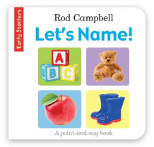Early Starters: Let's Name! av Rod Campbell (Bok uspesifisert)