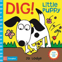 Dig! Little Puppy av Jo Lodge (Pappbok)