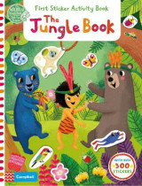 Omslag - The Jungle Book: First Sticker Activity Book